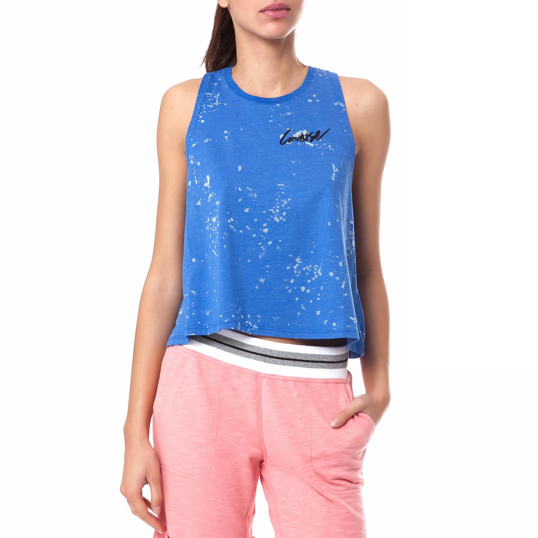 CONVERSE - Γυναικεία μπλούζα Converse μπλε