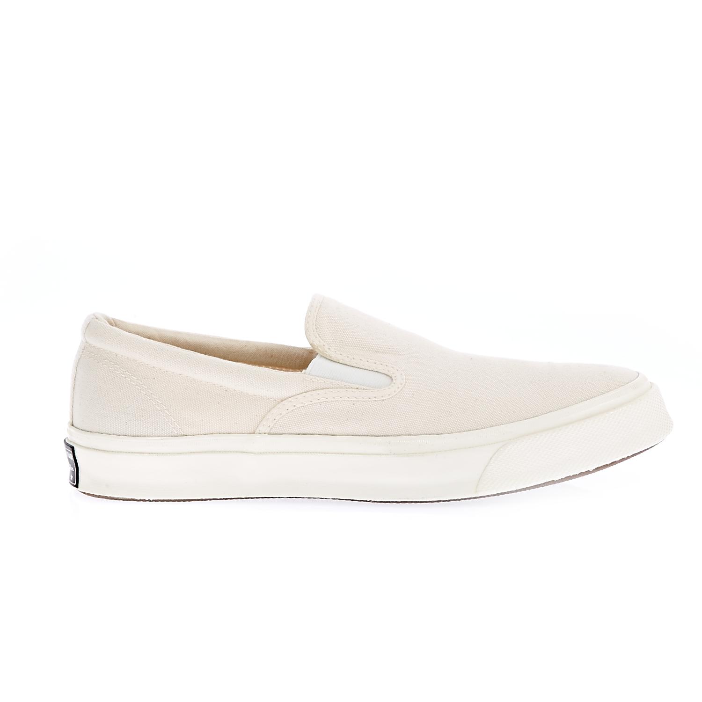 CONVERSE – Unisex slip-on παπούτσια Deck Star '70 μπεζ