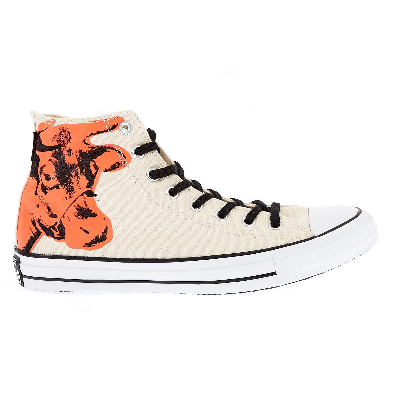 CONVERSE – Unisex παπούτσια Chuck Taylor All Star Hi εκρού