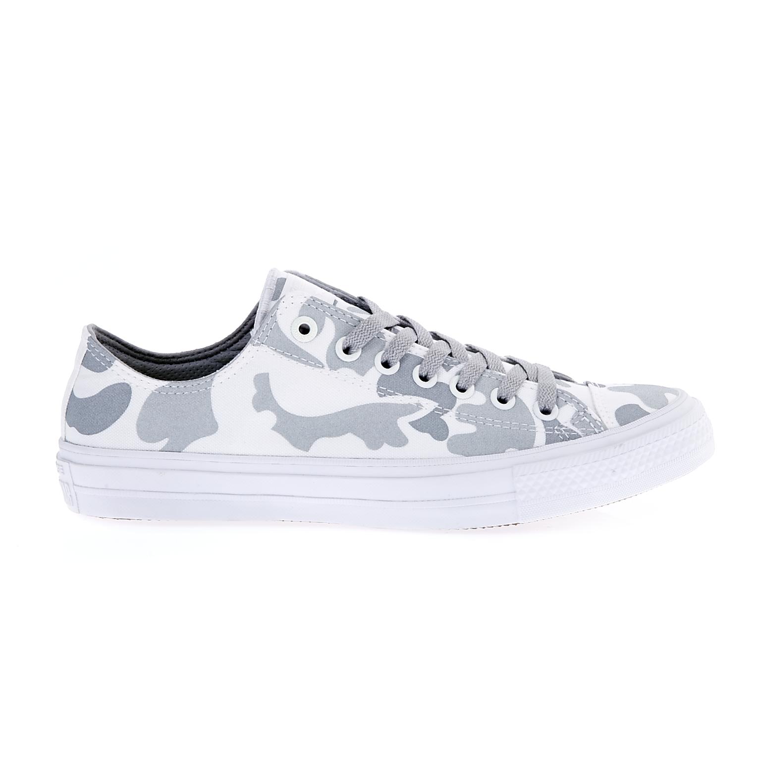 CONVERSE – Unisex παπούτσια Chuck Taylor All Star II Ox λευκά-γκρι