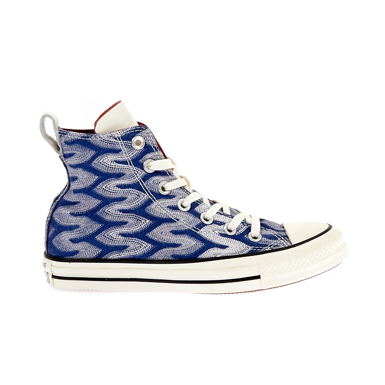 ec760bcc467 CONVERSE – Unisex παπούτσια Chuck Taylor All Star Hi μπλε