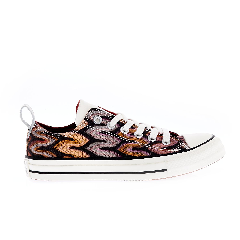 CONVERSE – Unisex παπούτσια Chuck Taylor All Star Ox μαύρα-ροζ