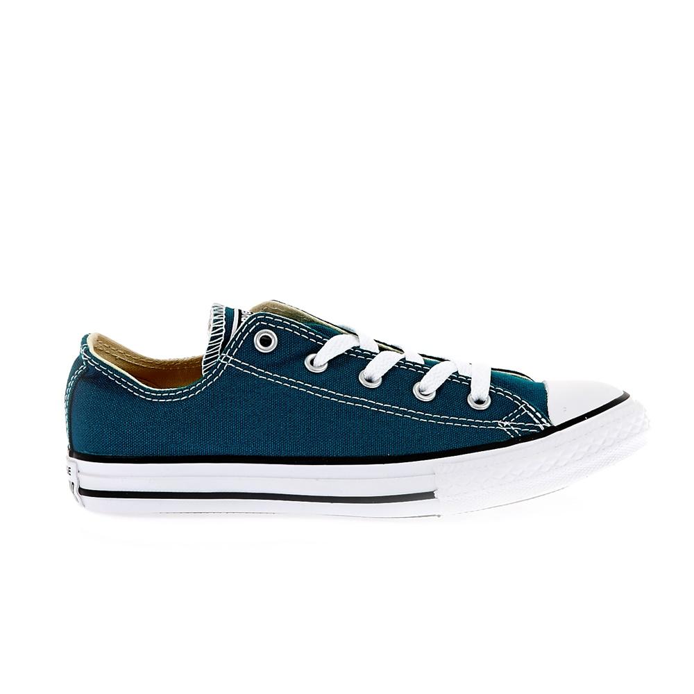 CONVERSE – Παιδικά παπούτσια Chuck Taylor All Star Ox μπλε-πράσινα