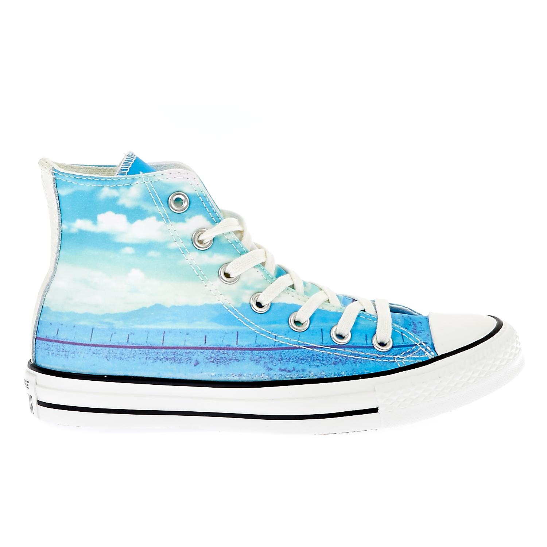 CONVERSE – Γυναικεία παπούτσια Chuck Taylor All Star Hi μπλε