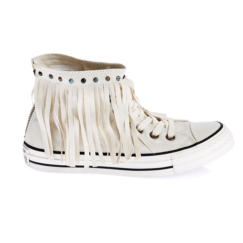 CONVERSE – Γυναικεία παπούτσια Chuck Taylor All Star Fringe μπεζ