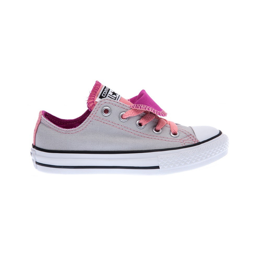 CONVERSE – Παιδικά παπούτσια Chuck Taylor All Star Double γκρι