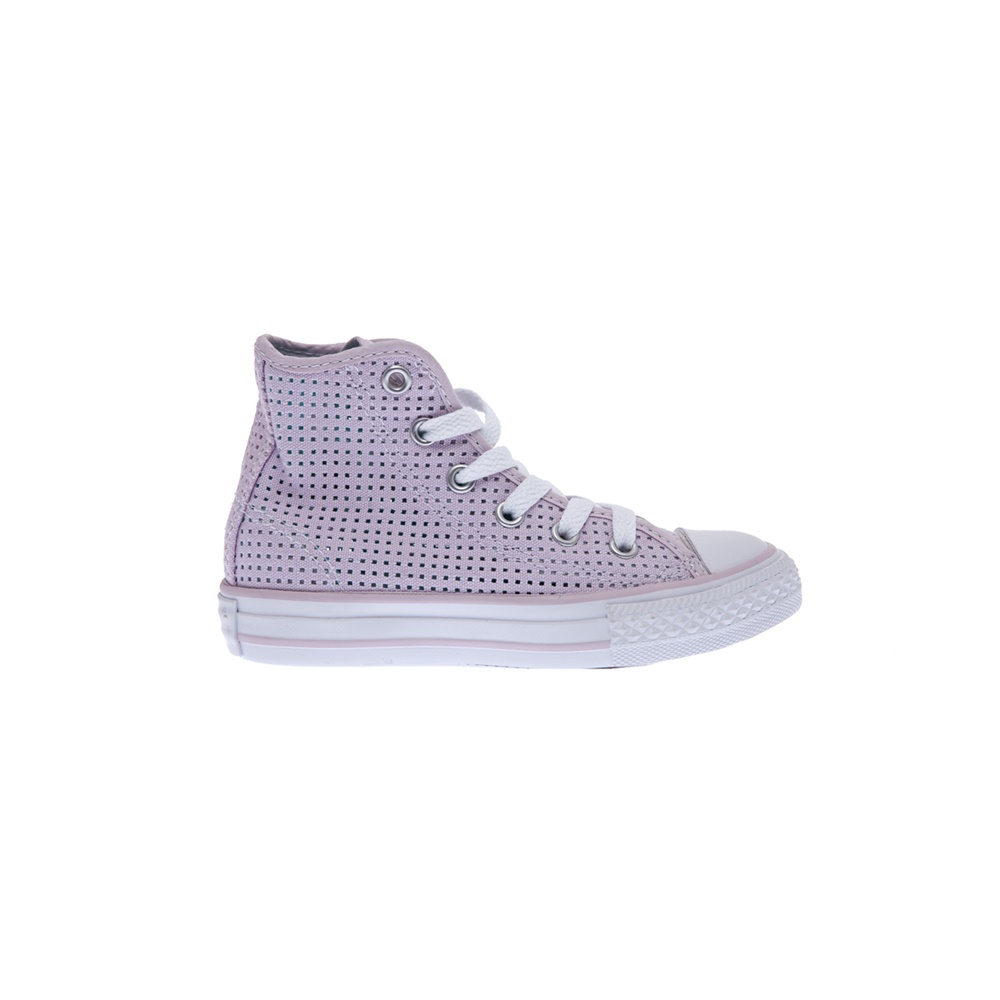 CONVERSE - Παιδικά παπούτσια Chuck Taylor All Star Hi ροζ - IFY Shoes 9a64fd85386