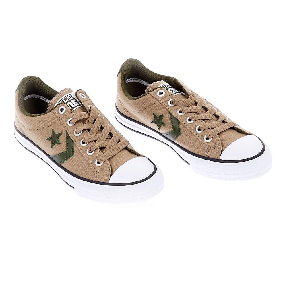 859aa32e2e4 CONVERSE - Παιδικά παπούτσια Star Player EV Ox μπεζ, Παιδικά ...