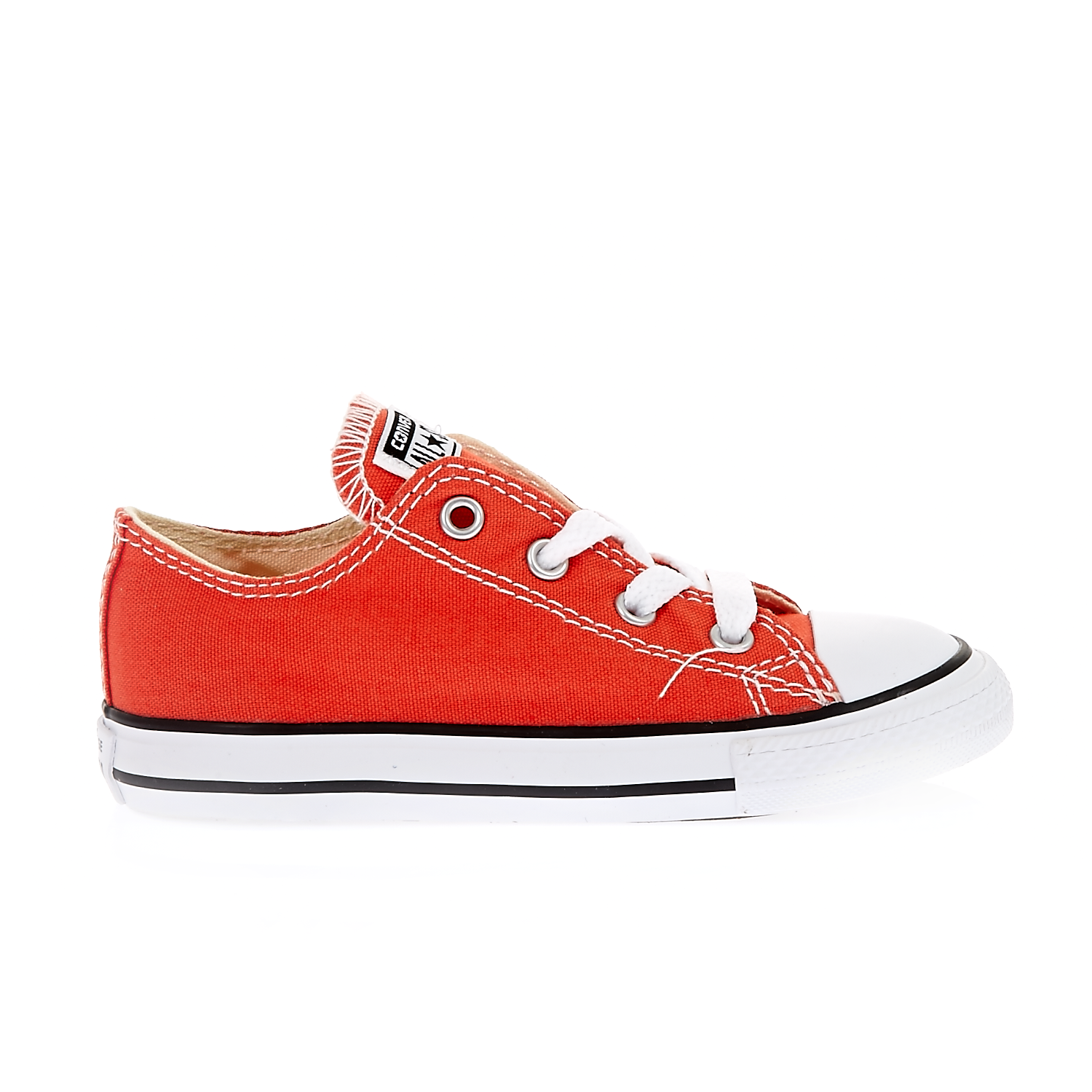 CONVERSE – Βρεφικά παπούτσια Chuck Taylor All Star Ox κεραμιδί-πορτοκαλί