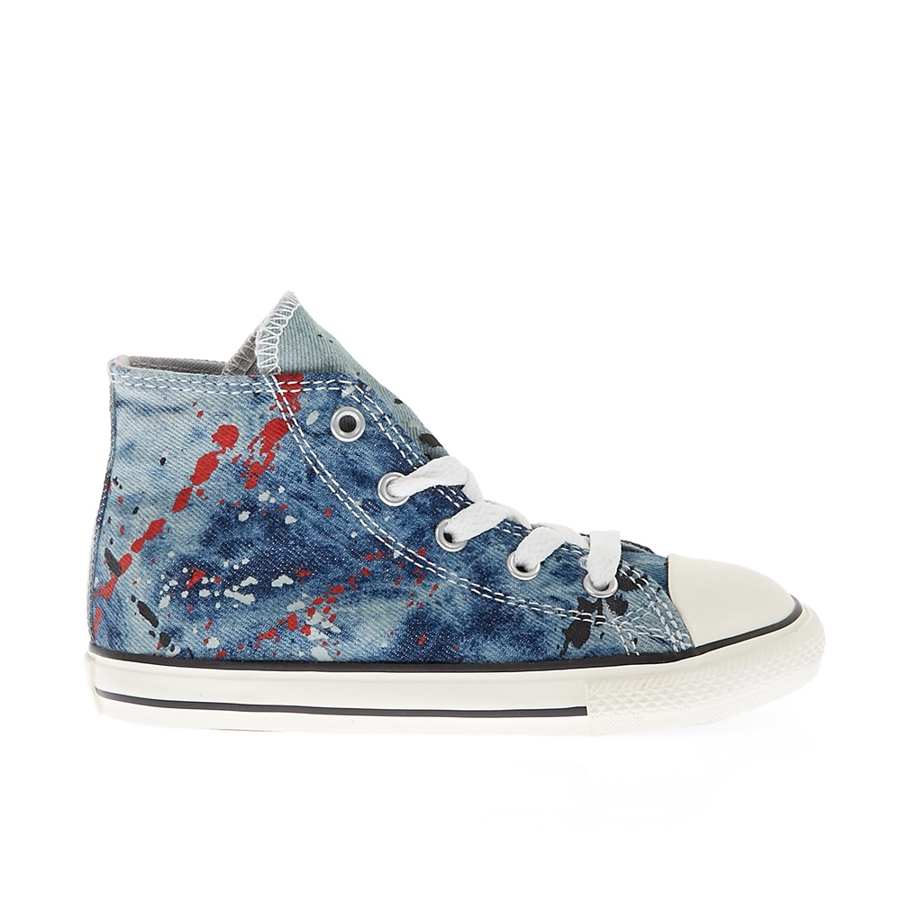 4666e0a189d CONVERSE - Βρεφικά παπούτσια Chuck Taylor All Star Hi μπλε ...
