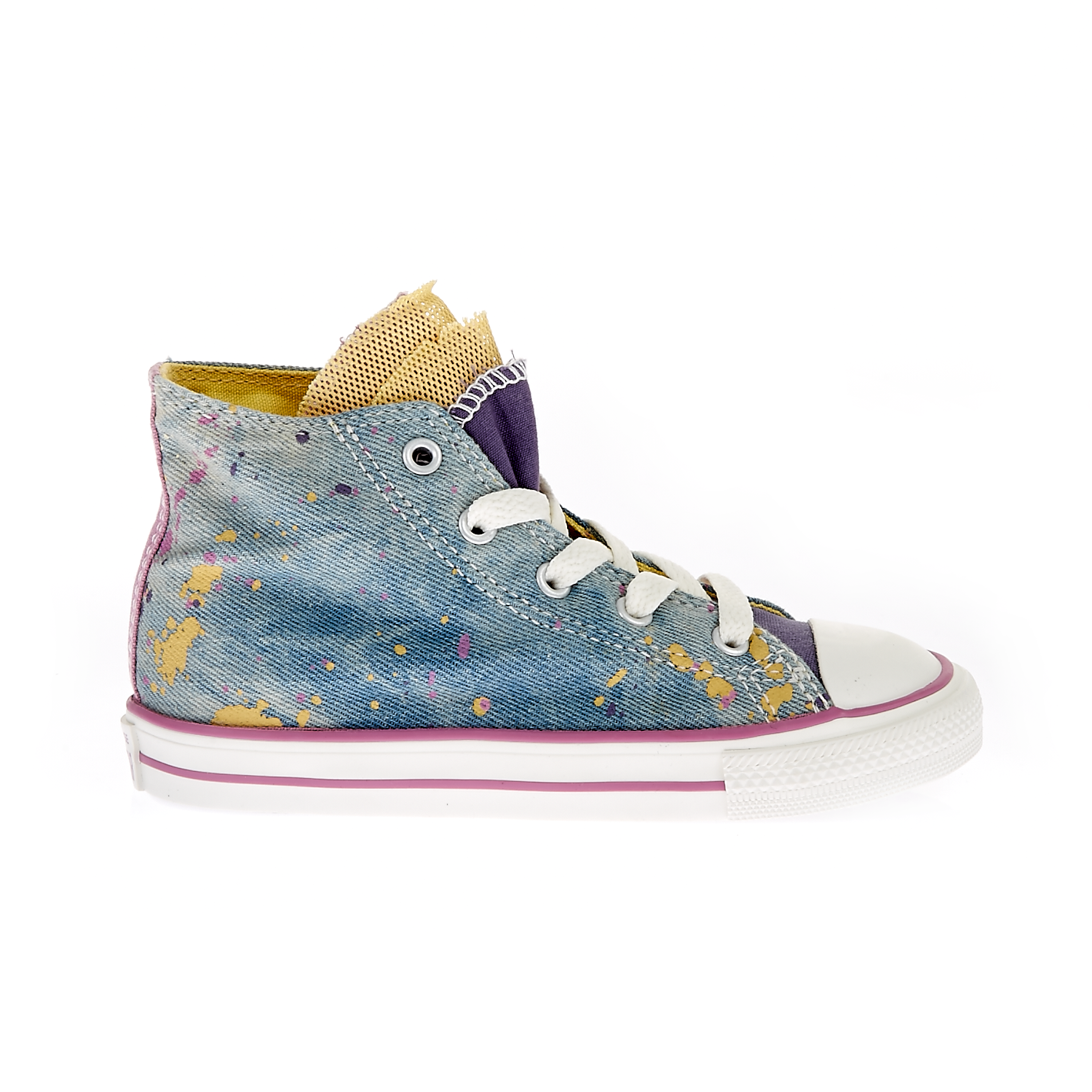 CONVERSE – Βρεφικά παπούτσια Chuck Taylor All Star Party Hi μπλε