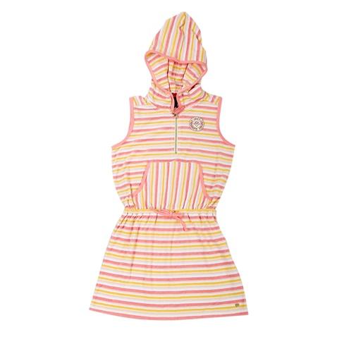 JUICY COUTURE KIDS-Παιδικό φόρεμα Juicy Couture σομών-κίτρινο