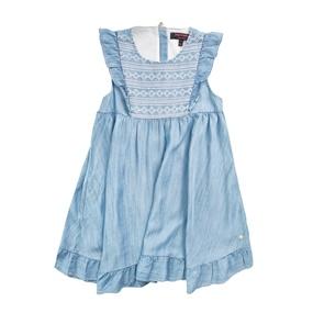 JUICY COUTURE KIDS. Κοριτσίστικο φόρεμα JUICY COUTURE γαλάζιο c7f467cf5c5