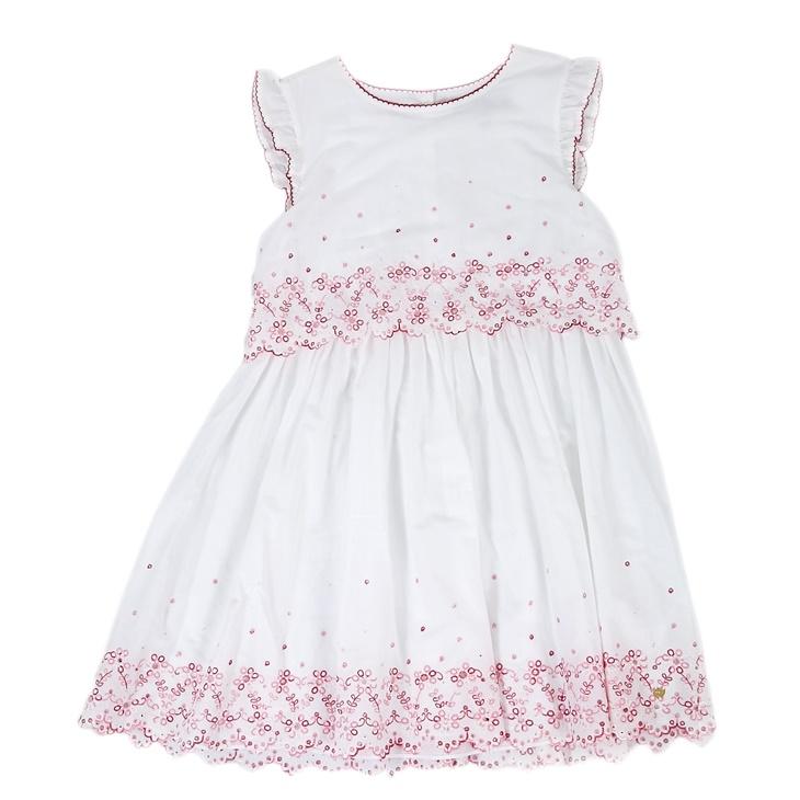 Παιδικό φόρεμα Juicy Couture λευκό - JUICY COUTURE KIDS (1441135.0 ... e14afc3afaf