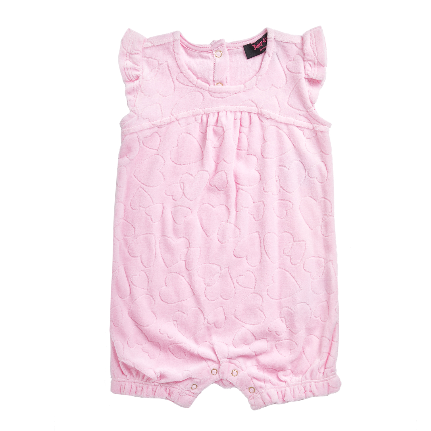 12a6f603c9c2 JUICY COUTURE KIDS – Φορμάκι JUICY COUTURE LINKING HEARTS ροζ