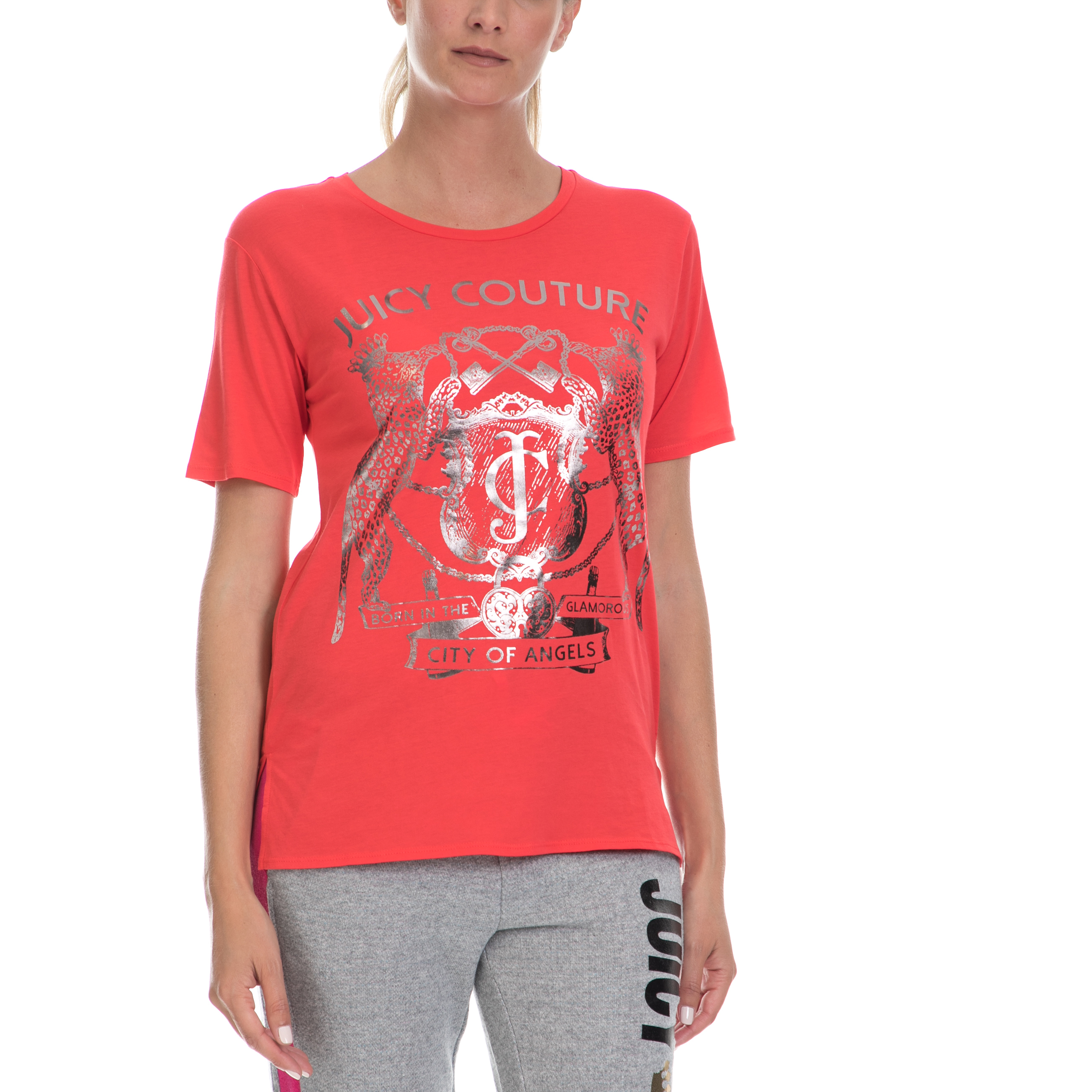 JUICY COUTURE – Γυναικεία μπλούζα JUICY COUTURE κόκκινη 5e696715c9b