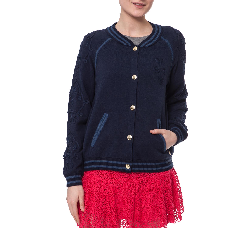 6835e0292c01 JUICY COUTURE - Γυναικείο τζάκετ Juicy Couture μπλε ⋆ pressmedoll.gr
