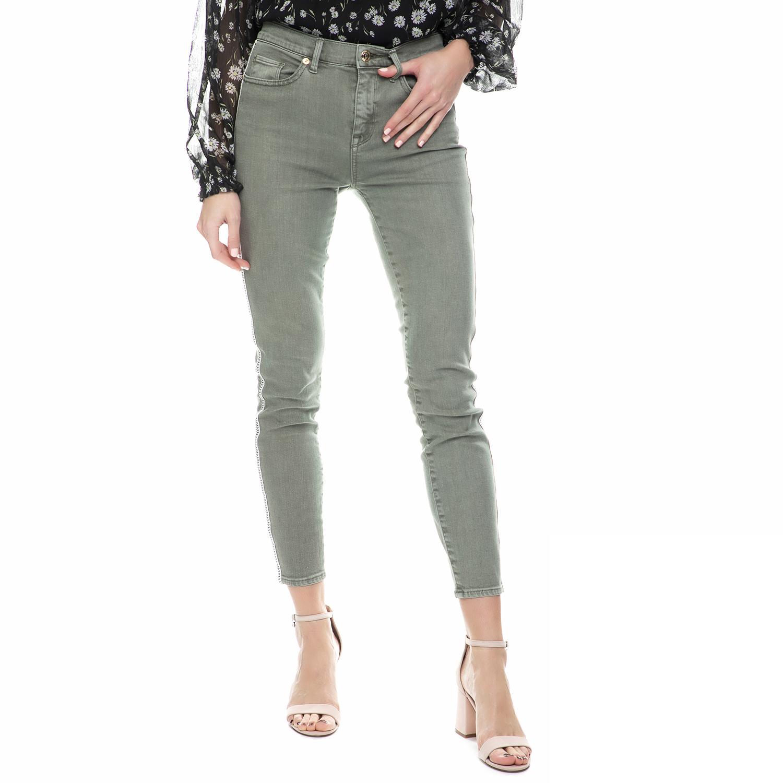 JUICY COUTURE - Γυναικείο ψηλόμεσο τζιν παντελόνι skinny Juicy Couture γκρι γυναικεία ρούχα τζίν skinny