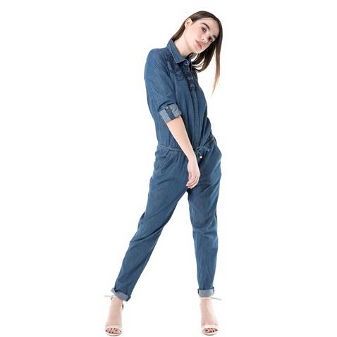 Γυναικεία τζιν ολόσωμη φόρμα emboidered chambray Juicy Couture ... 09d95269aa1