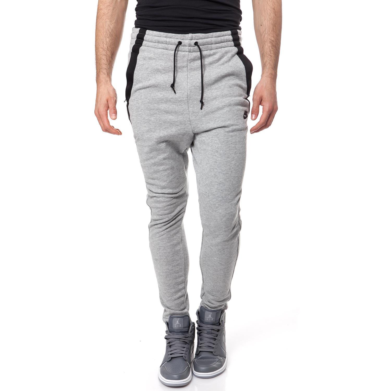 NIKE - Ανδρικό παντελόνι φόρμας NIKE MODERN FT CUFF PANT γκρι μελανζέ ανδρικά ρούχα αθλητικά φόρμες