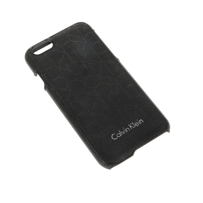 CALVIN KLEIN JEANS - Θήκη Iphone 6 Calvin Klein Jeans μαύρη ανδρικά αξεσουάρ θήκες