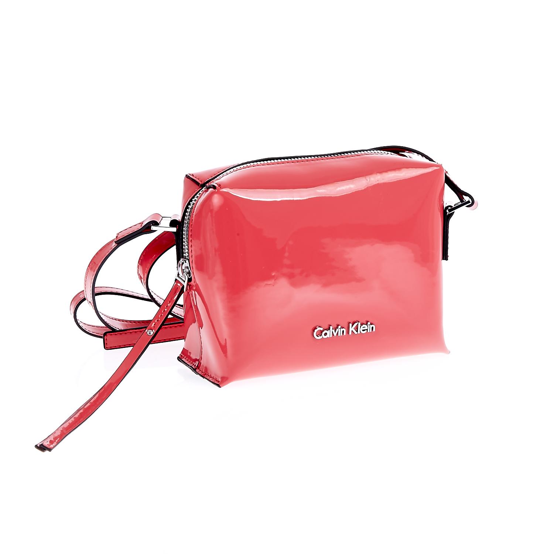 CALVIN KLEIN JEANS - Τσάντα Calvin Klein Jeans κόκκινη γυναικεία αξεσουάρ τσάντες σακίδια ωμου