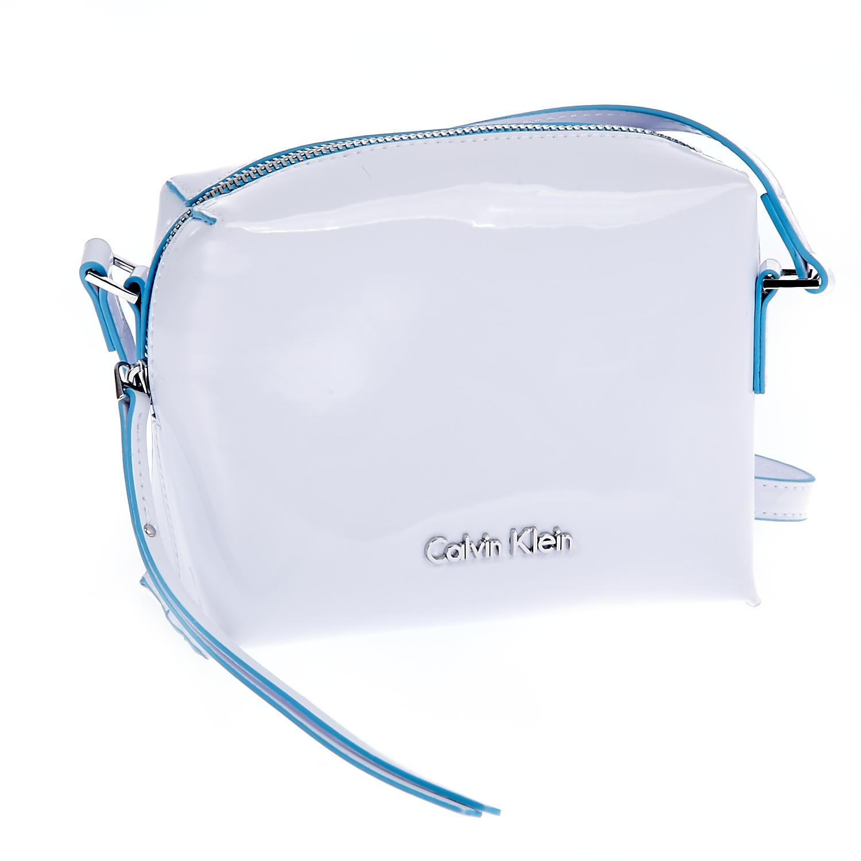 CALVIN KLEIN JEANS - Τσάντα Calvin Klein Jeans λευκή γυναικεία αξεσουάρ τσάντες σακίδια ωμου