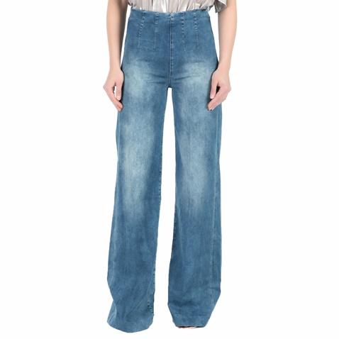 Γυναικείο ψηλόμεσο τζιν παντελόνι καμπάνα Guess CLEA PALAZZO PANT μπλε  (1445265.0-00j2)  159c83287f8
