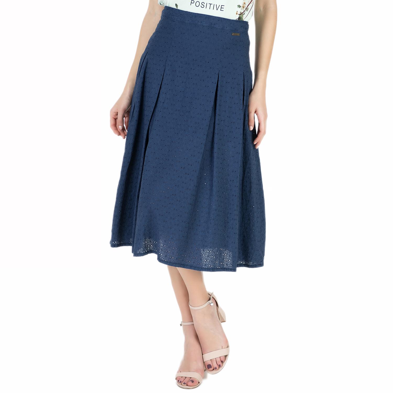 GUESS – Γυναικεία ψηλόμεση φούστα Guess CLOTHILDE μπλε