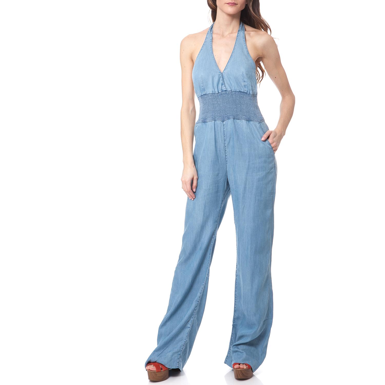 GUESS - Γυναικεία ολόσωμη φόρμα Guess μπλε γυναικεία ρούχα ολόσωμες φόρμες
