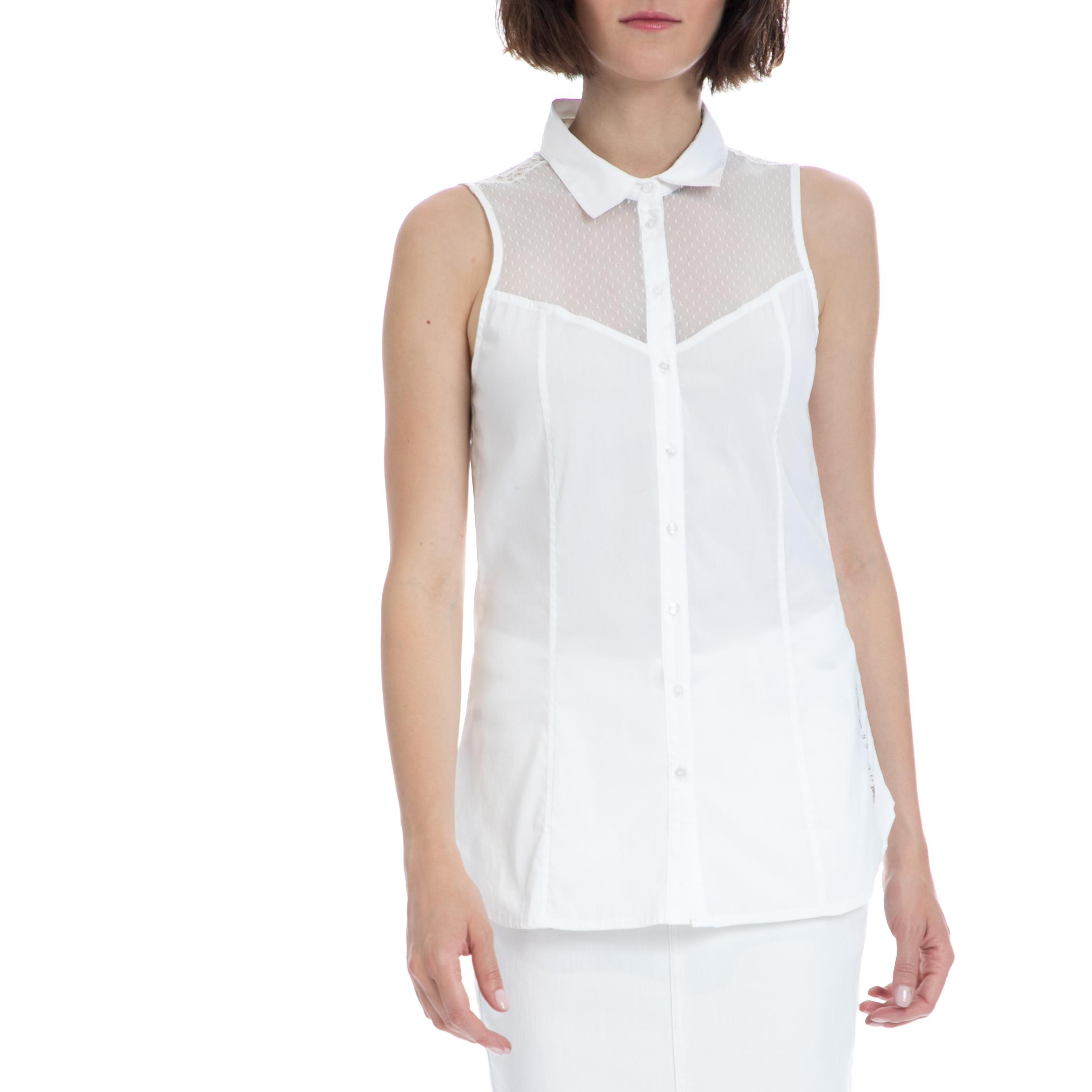 cfa88e890bb0 GUESS – Γυναικείο πουκάμισο Guess λευκό