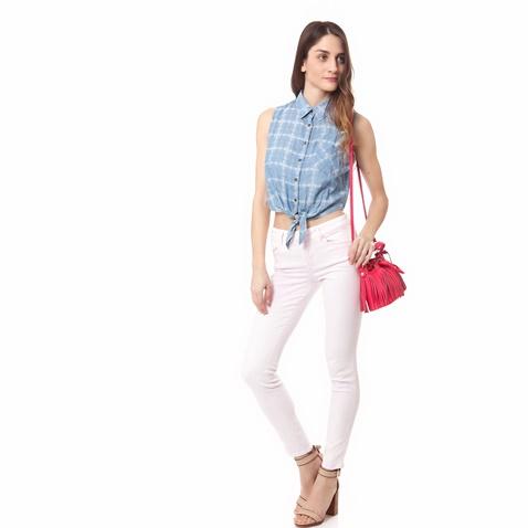 GUESS-Γυναικείο πουκάμισο Guess μπλε