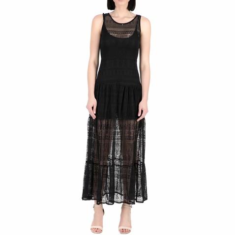 d20afbdf4cff Γυναικείο μάξι φόρεμα Guess PAQUITA - SUMMER LACE μαύρο (1445378.0-0074)