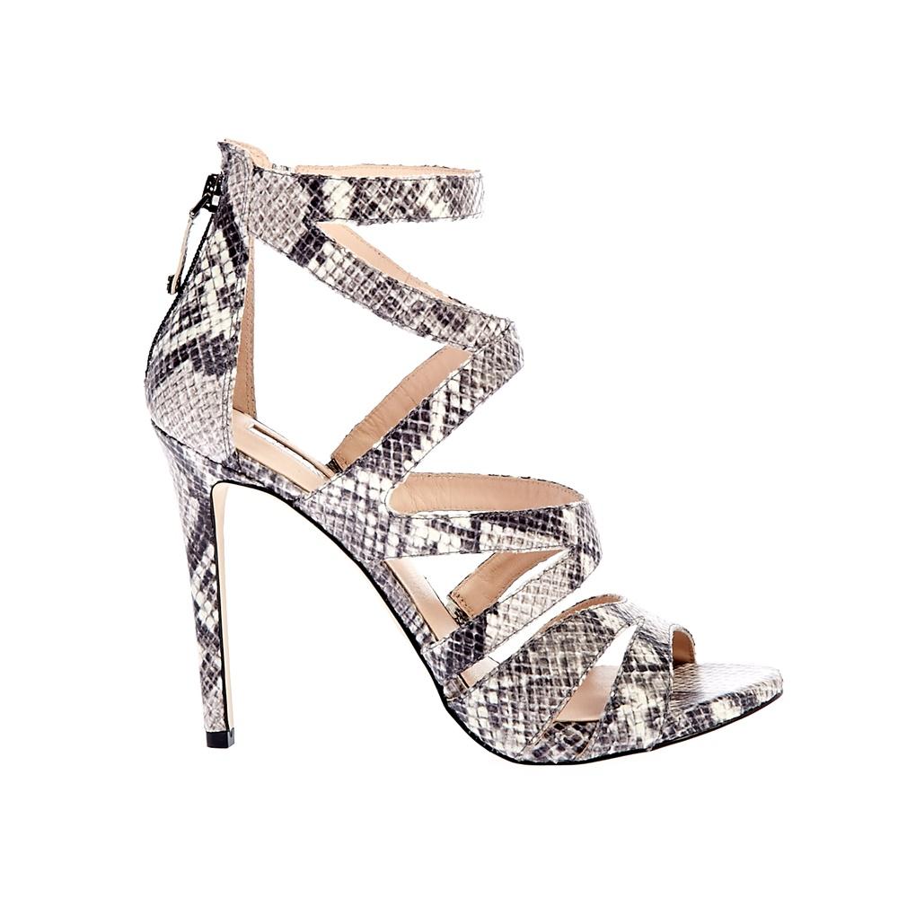 75befe5161d GUESS - Γυναικεία πέδιλα Guess γκρι-μπεζ ⋆ EliteShoes.gr