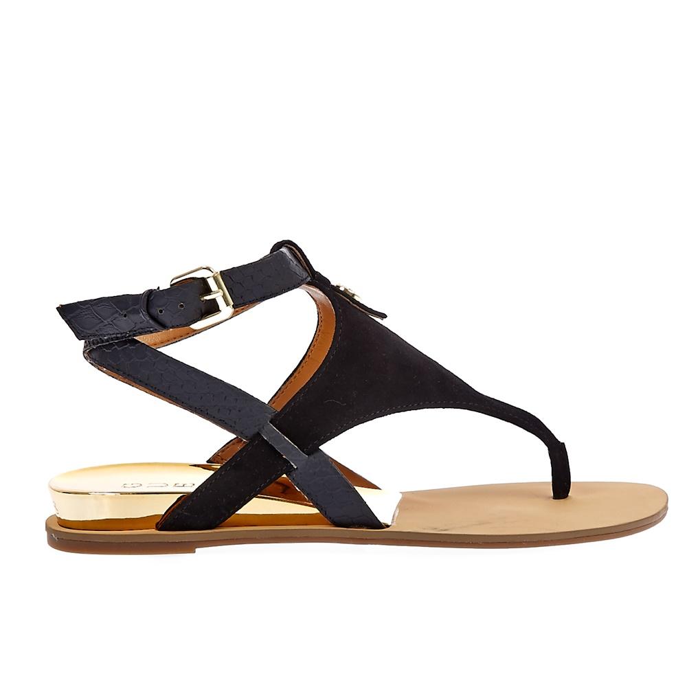 GUESS - Γυναικεία σανδάλια Guess μαύρα ⋆ EliteShoes.gr 667766cdf96