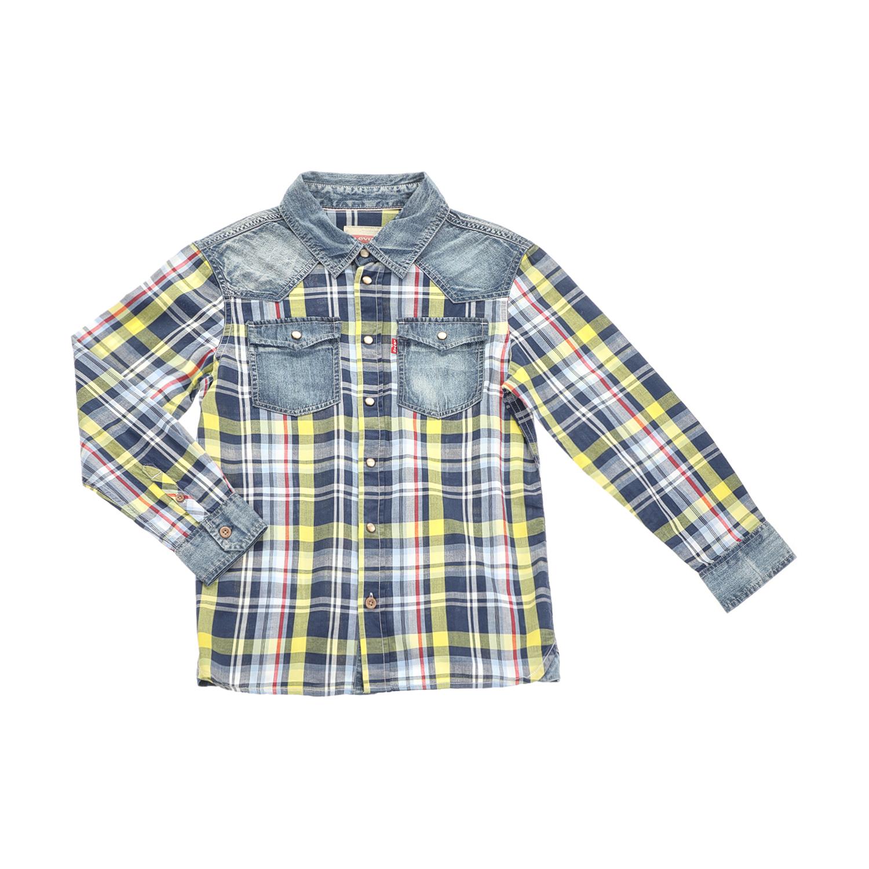 LEVI S KIDS – Αγορίστικο πουκάμισο LEVI S KIDS καρό – Online Ρούχα 2da345f59aa