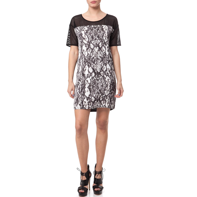 CALVIN KLEIN JEANS - Γυναικεία φορέματα Calvin Klein Jeans μαύρο γυναικεία ρούχα φορέματα μίνι