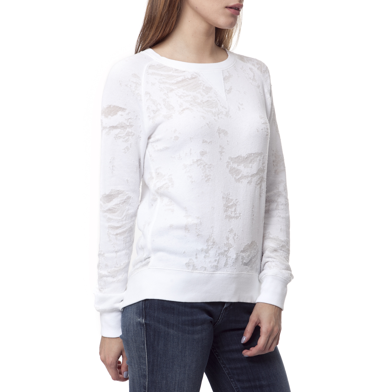 5290306326 CALVIN KLEIN JEANS – Γυναικεία μπλούζα Calvin Klein Jeans λευκή