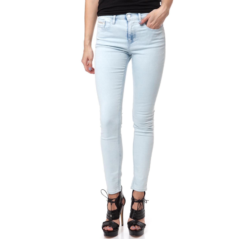 fe766c6d2126 CALVIN KLEIN JEANS – Γυναικείο τζιν παντελόνι Calvin Klein Jeans μπλε