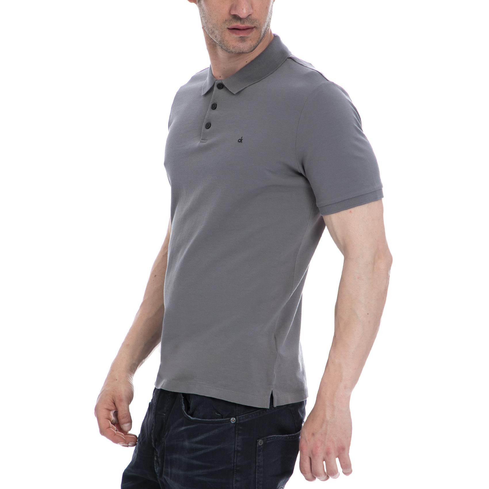 CALVIN KLEIN JEANS - Ανδρική μπλούζα Calvin Klein Jeans γκρι e696e918ee0
