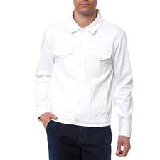 CALVIN KLEIN JEANS-Ανδρικό τζάκετ Calvin Klein Jeans λευκό