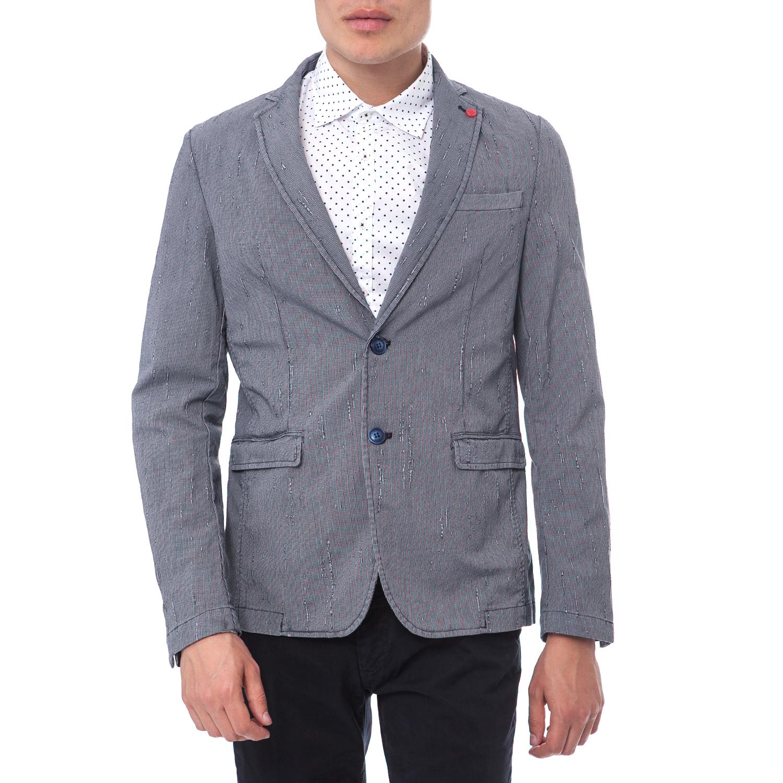 SSEINSE - Ανδρικό σακάκι SSEINSE γκρι-μπλε ανδρικά ρούχα πανωφόρια σακάκια