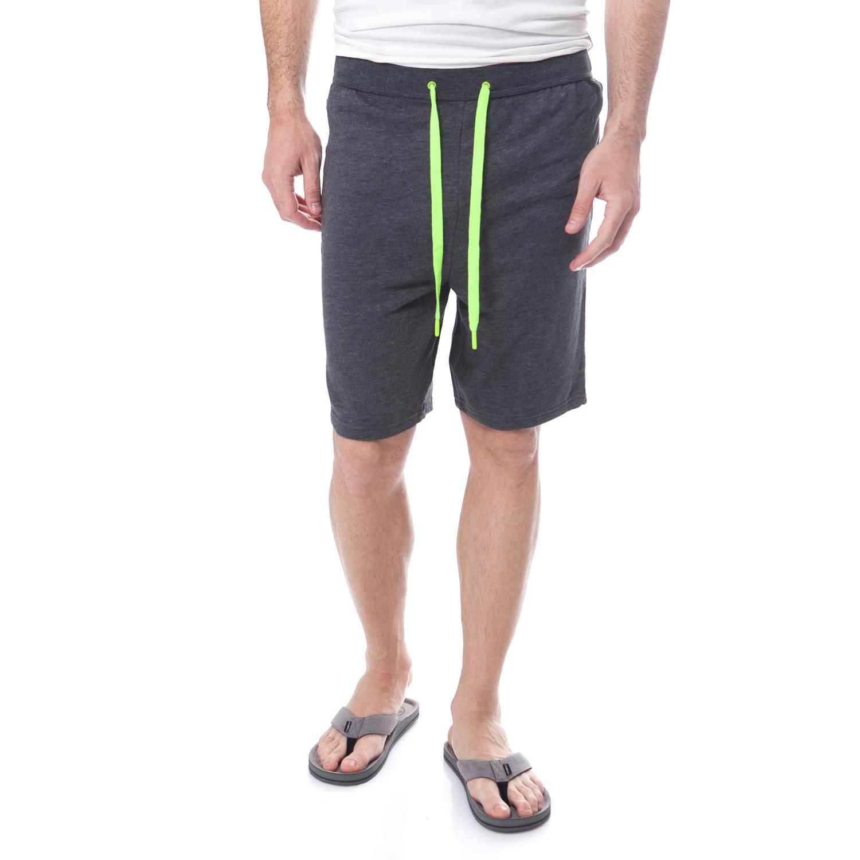 CK UNDERWEAR - Ανδρική βερμούδα Calvin Klein Jeans γκρι ανδρικά ρούχα σορτς βερμούδες αθλητικά