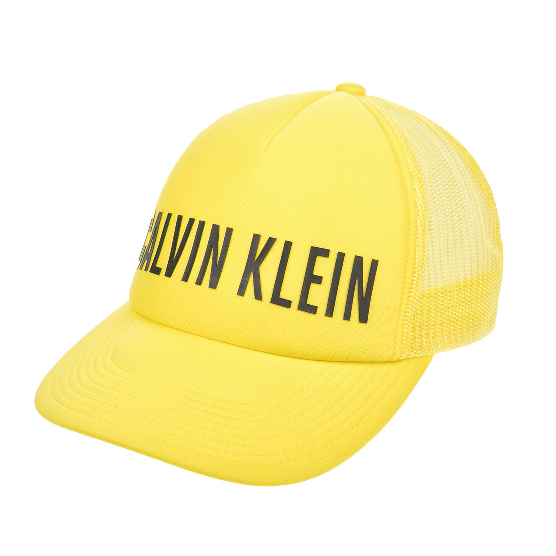 CK UNDERWEAR – Ανδρικό καπέλο CK UNDERWEAR κίτρινο