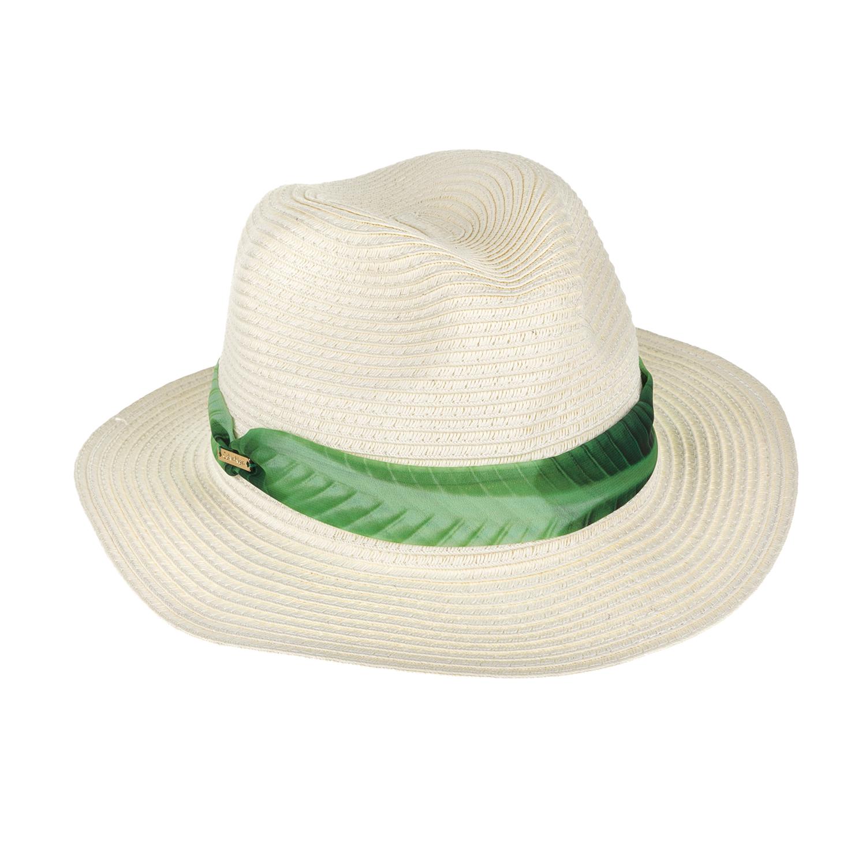 CK UNDERWEAR - Γυναικείο ψάθινο καπέλο CALVIN KLEIN γυναικεία αξεσουάρ καπέλα casual