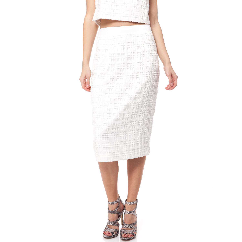 Γυναικεία   Ρούχα   Φούστες   Φούστα κολλητή γυναικεία σε πουά ... 93967a3690f