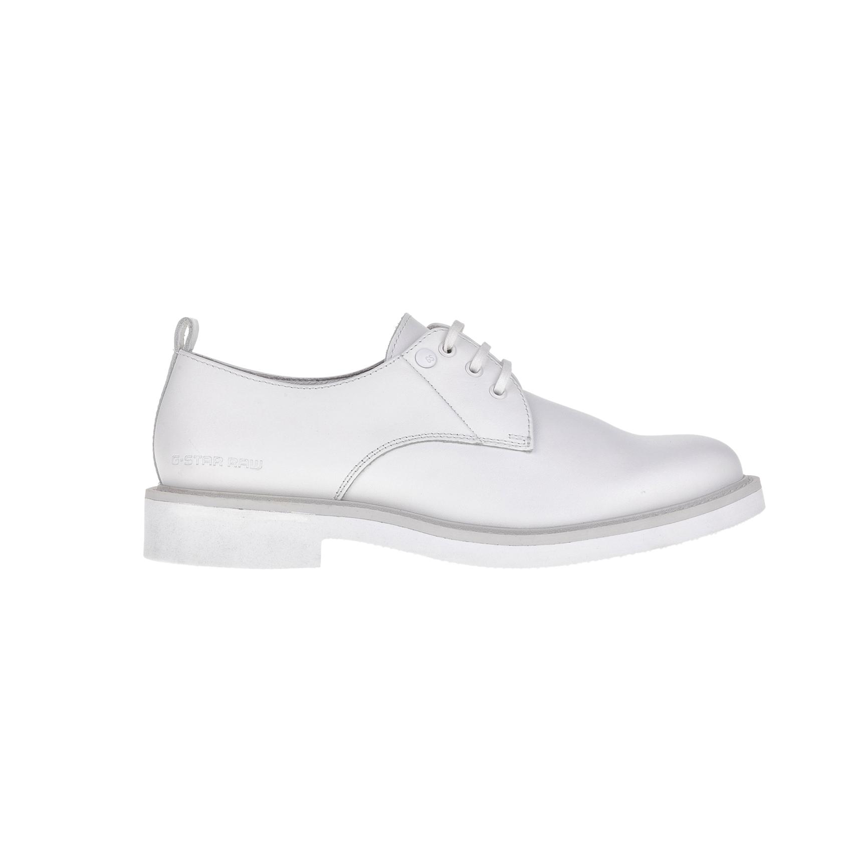 G-STAR RAW – Γυναικεία παπούτσια G-STAR RAW MORTON MONO λευκά