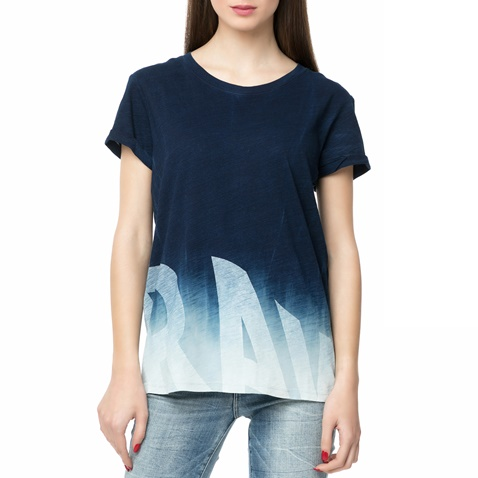 4c47b1bca849 Γυναικείο t-shirt Ridram Γυναικείο t-shirt μπλε - G-STAR RAW (1452159)