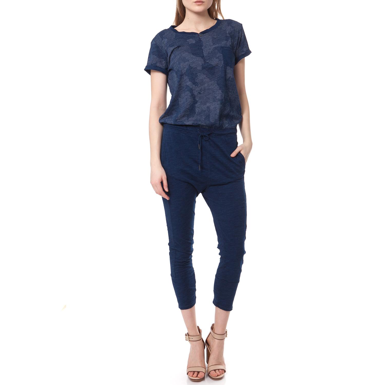 G-STAR - Ολόσωμη φόρμα G-STAR RAW μπλε γυναικεία ρούχα ολόσωμες φόρμες