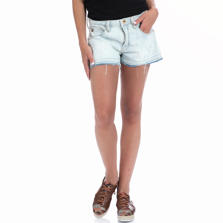 G-STAR RAW - Γυναικεία βερμούδα G-Star Raw μπλε γυναικεία ρούχα σορτς βερμούδες casual jean